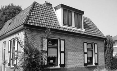 Restauratie vrijstaande monumentale<br/>woning in Nunspeet
